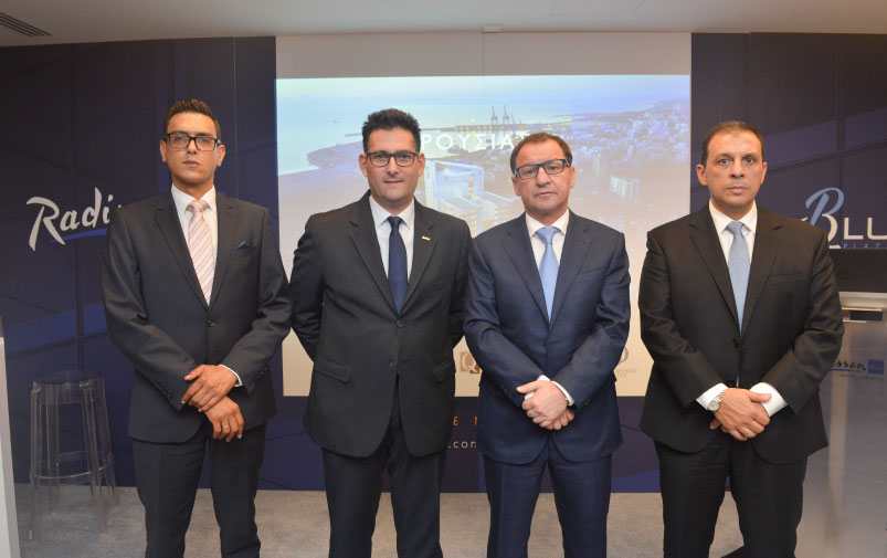 Official opening of Larnaca's Radisson Blu Hotel and QBlu Plaza